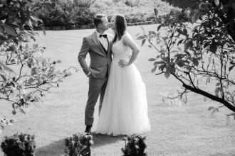 Sesja ślubna w Ogrodach Kapias