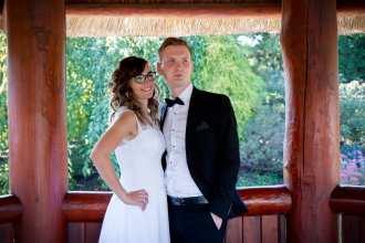 Plener ślubny w Ogrodach Kapias