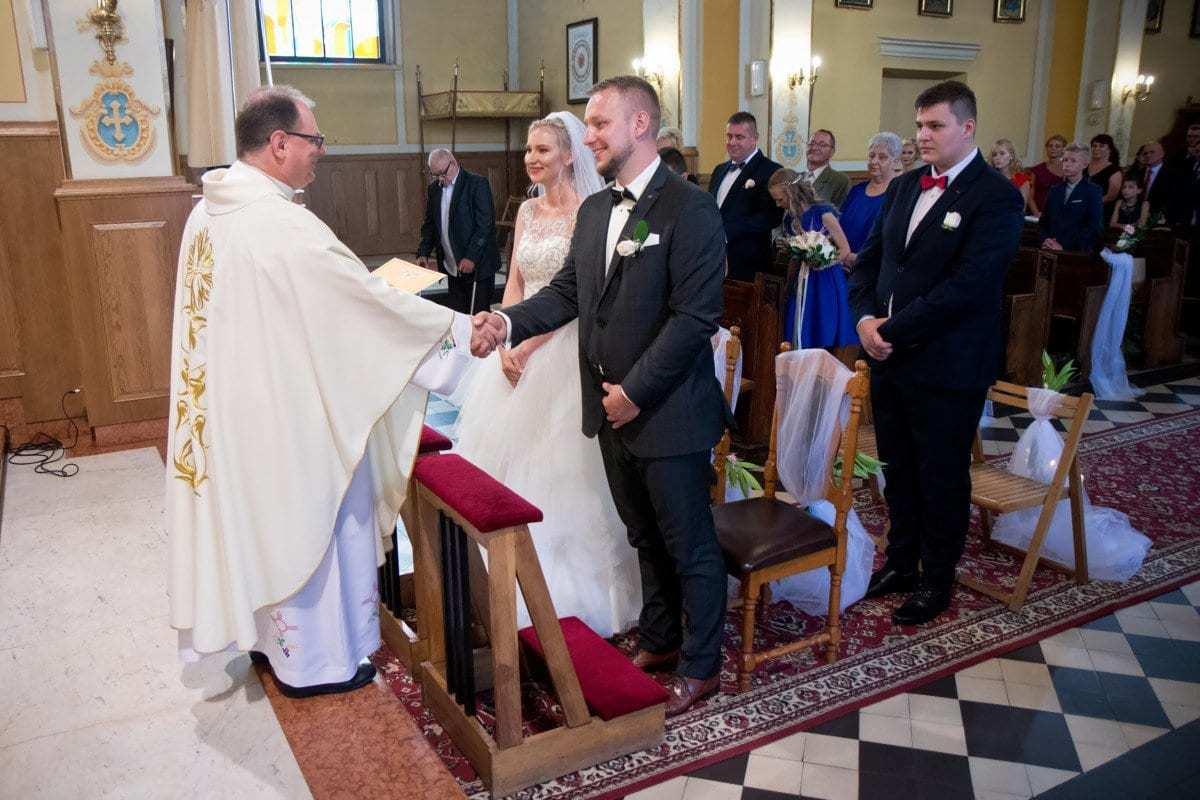 Zdjęcia ze ślubu - Chełmek