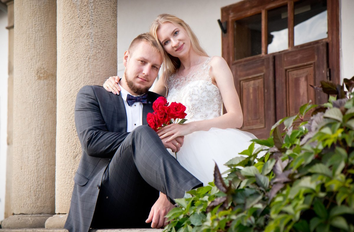 Plener ślubny w Wygiełzowie