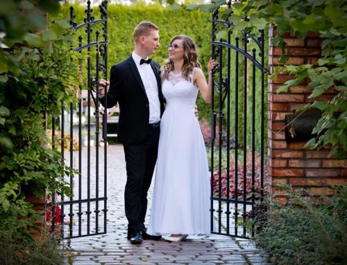 Plener ślubny w Ogrodach Kapias – Agnieszka i Mateusz