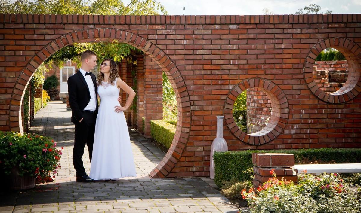 Zdjęcia ślubne Ogrody Kapias