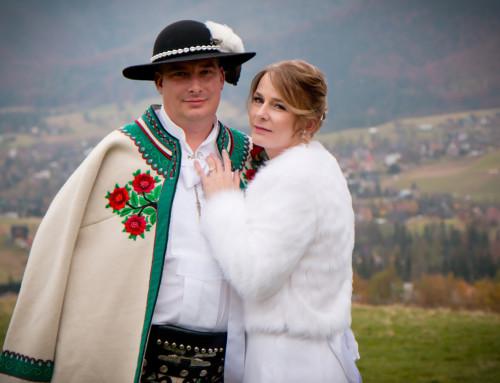 Zdjęcia ślubne pod Tatrami – Elżbieta i Bartek