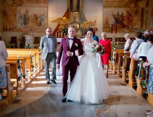 Zdjęcia ślubne Marleny i Kamila w Kętach