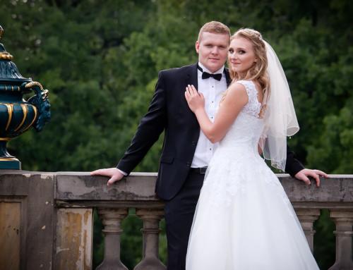Plener ślubny w Pszczynie – Kasia i Kamil
