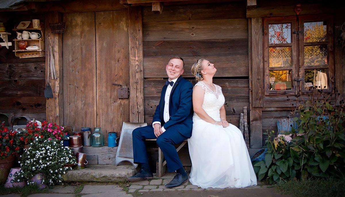 Plener ślubny Ani i Przemka - Ogrody Kapias | Pszczyna 1