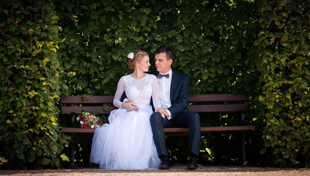 Plener ślubny Ogrody Kapias