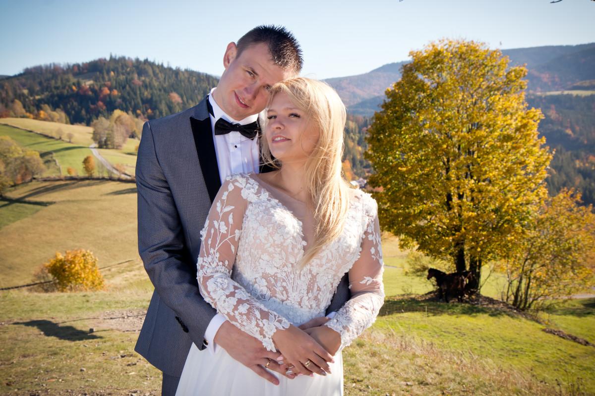 Ania & Mariusz - plener ślubny w Wiśle 3