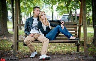 Sesja narzeczeńska w Wygiełzowie - Magda i Jakub 2