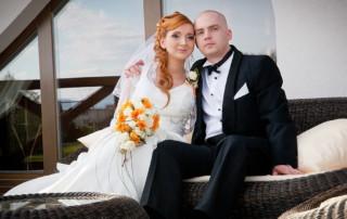 Patrycja i Marcin - zdjęcia ślubne Osiek 1