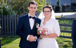 Kasia i Tomek - zdjęcia ze ślubu w Płazie 2