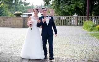 Marta i Konrad - fotografia ślubna Trzebinia 1