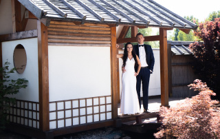 Karolina & Damian - Plener ślubny w Ogrodach Kapias 1