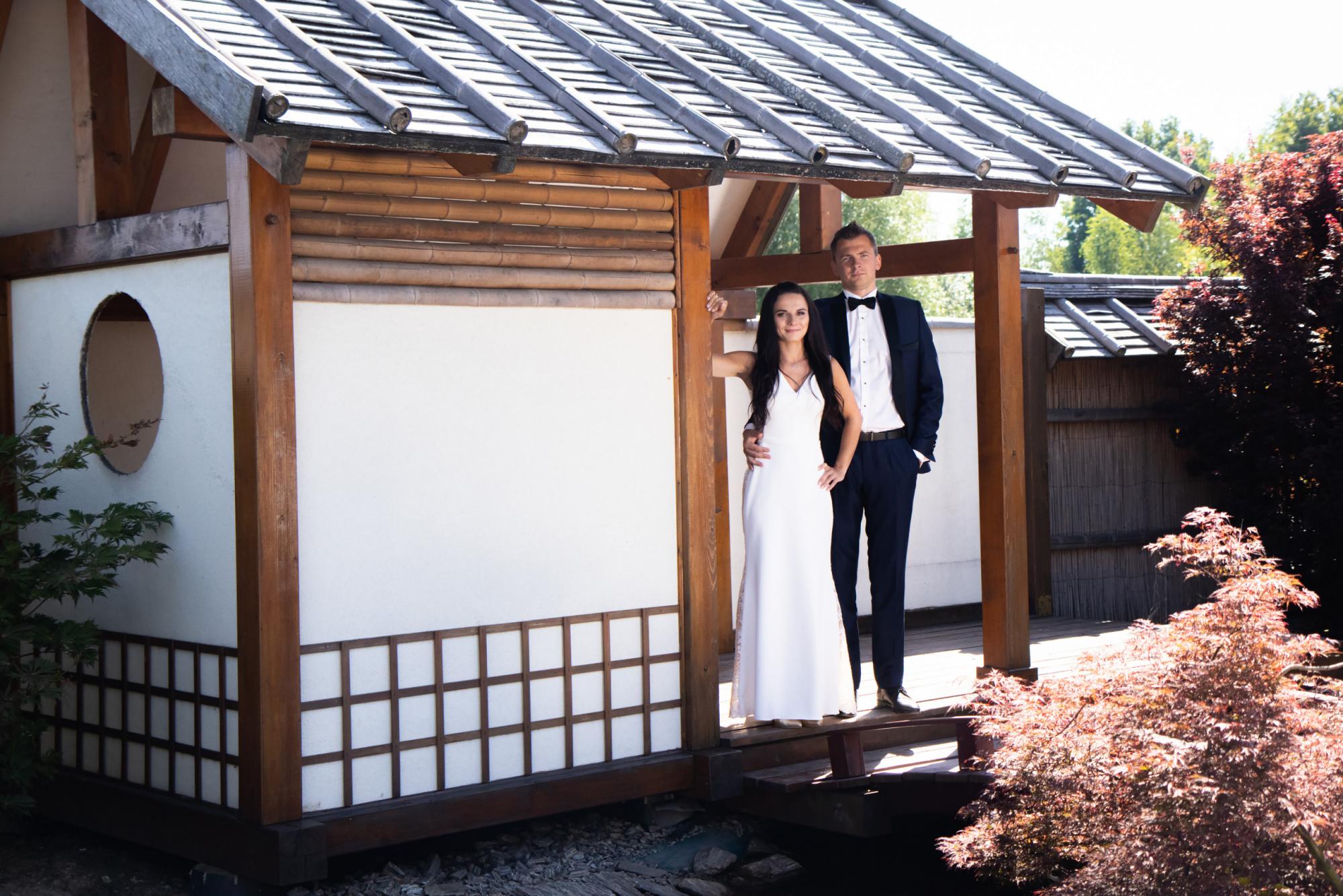 Karolina & Damian - Plener ślubny w Ogrodach Kapias 6